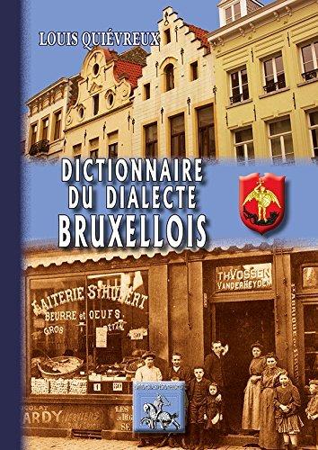 DICTIONNAIRE DU DIALECTE BRUXELLOIS