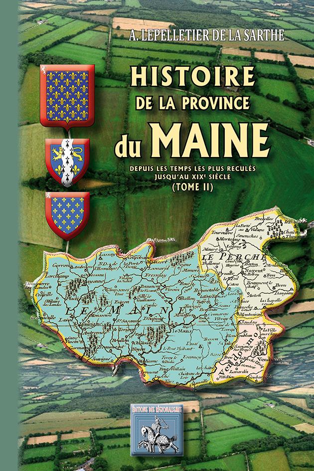 HISTOIRE DE LA PROVINCE DU MAINE TOME II