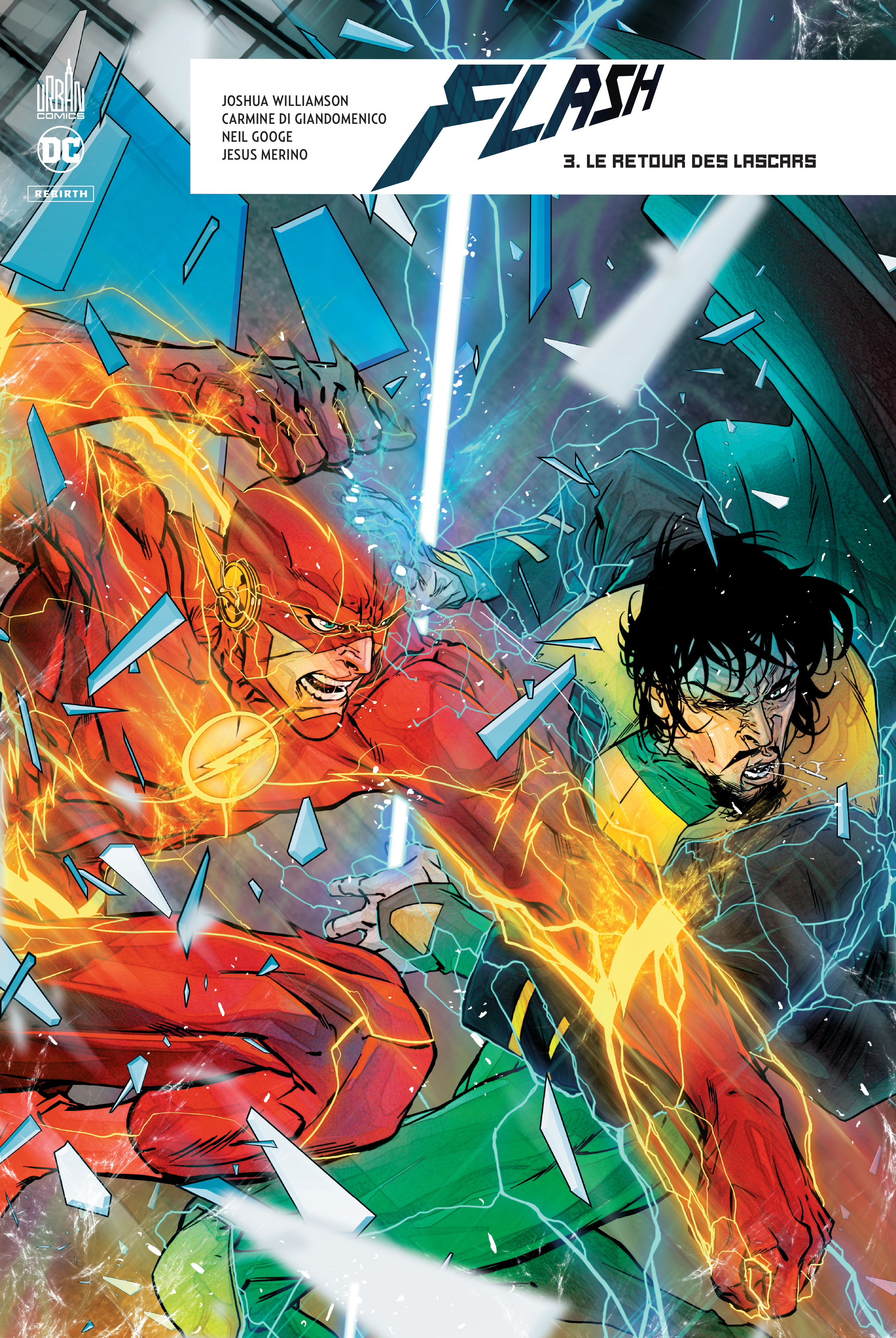 FLASH REBIRTH TOME 3