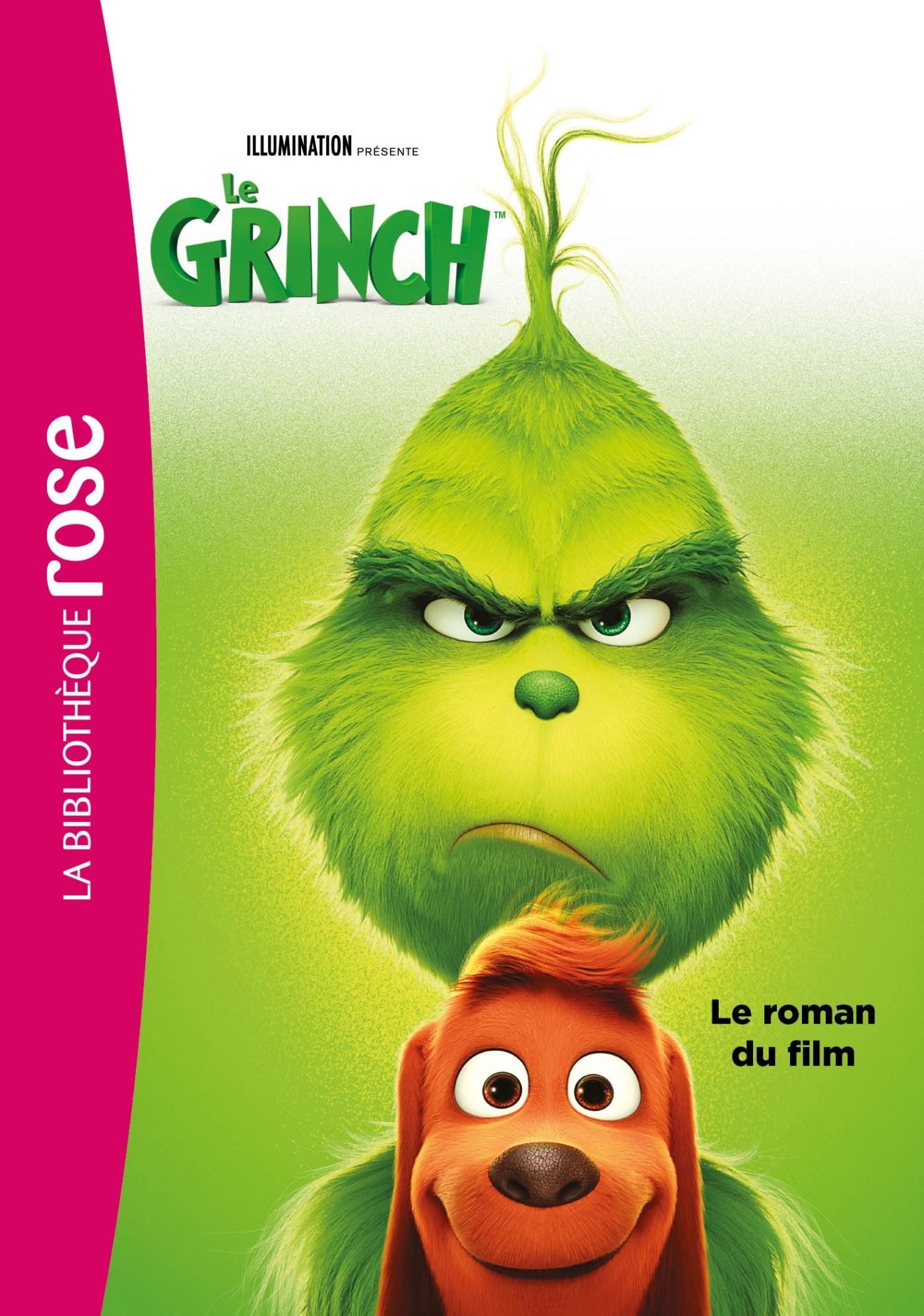 THE GRINCH - LE ROMAN DU FILM - FILMS BB ROSE 8-10 - T0