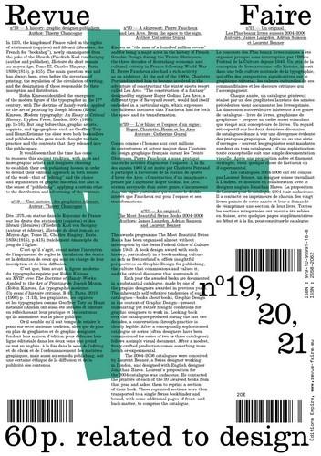 FAIRE - REGARDER LE GRAPHISME - VOLUME 06 (N  19, 20, 21)