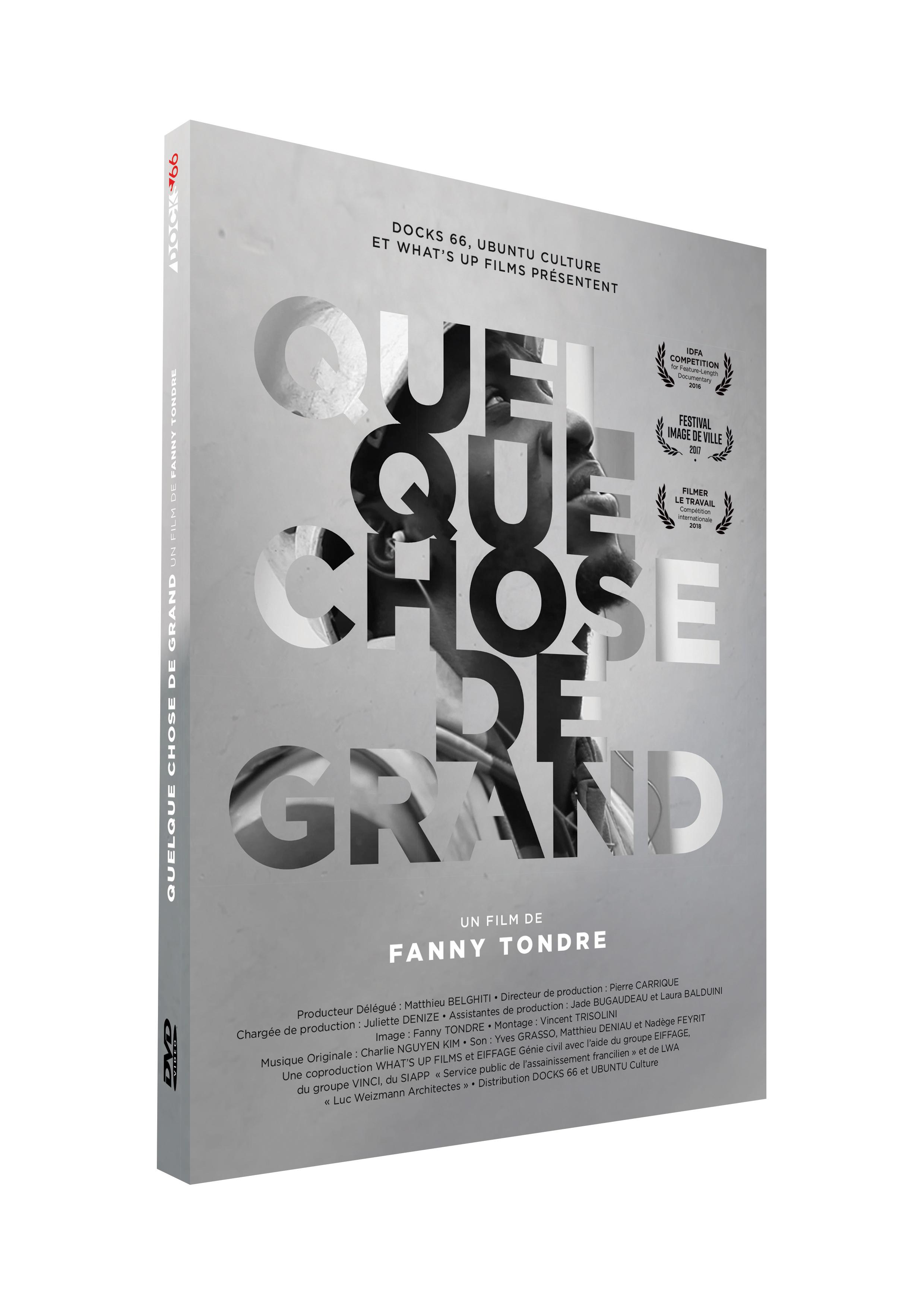 QUELQUE CHOSE DE GRAND - DVD