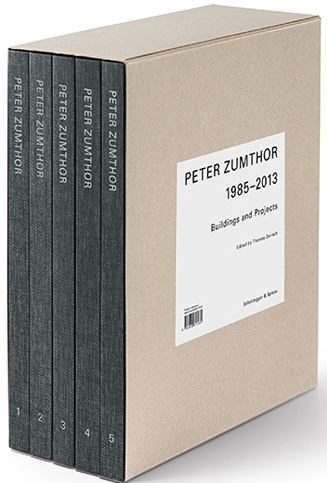 PETER ZUMTHOR BUILDINGS AND PROJECTS 1985-2013 (COFFRET 5 VOL) /ANGLAIS