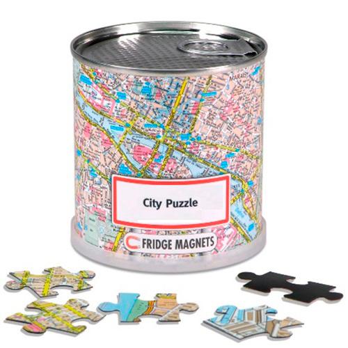 CITY PUZZLE BARCELONE 100 PIECES MAGNET.