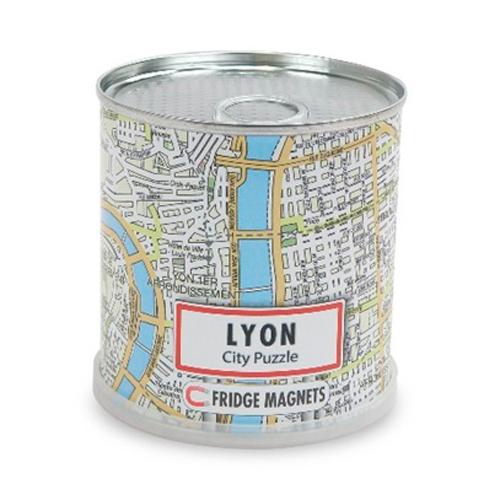 CITY PUZZLE LYON 100 PIECES MAGNET.