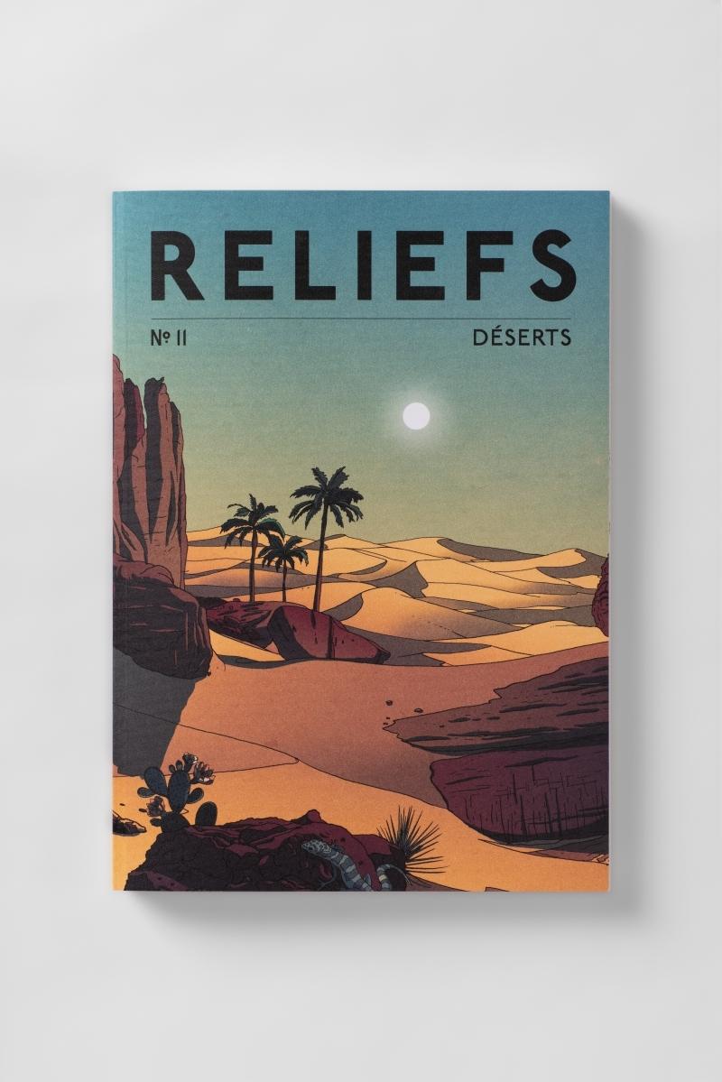 REVUE RELIEFS N 11 - DESERTS