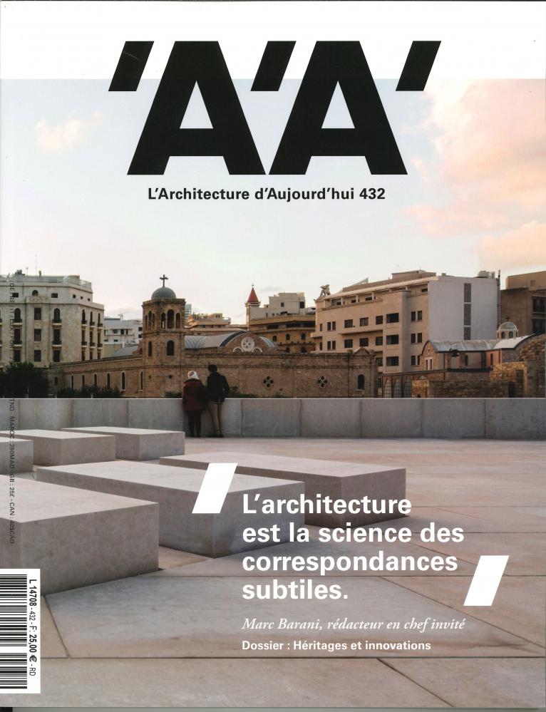 L'ARCHITECTURE D'AUJOURD'HUI N  432 - SEPTEMBRE 2019