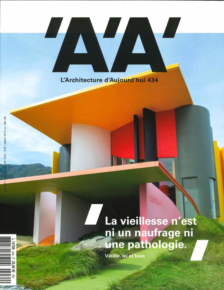 L'ARCHITECTURE D'AUJOURD'HUI N  434 VIEILLIR ICI ET BIEN - DECEMBRE 2019