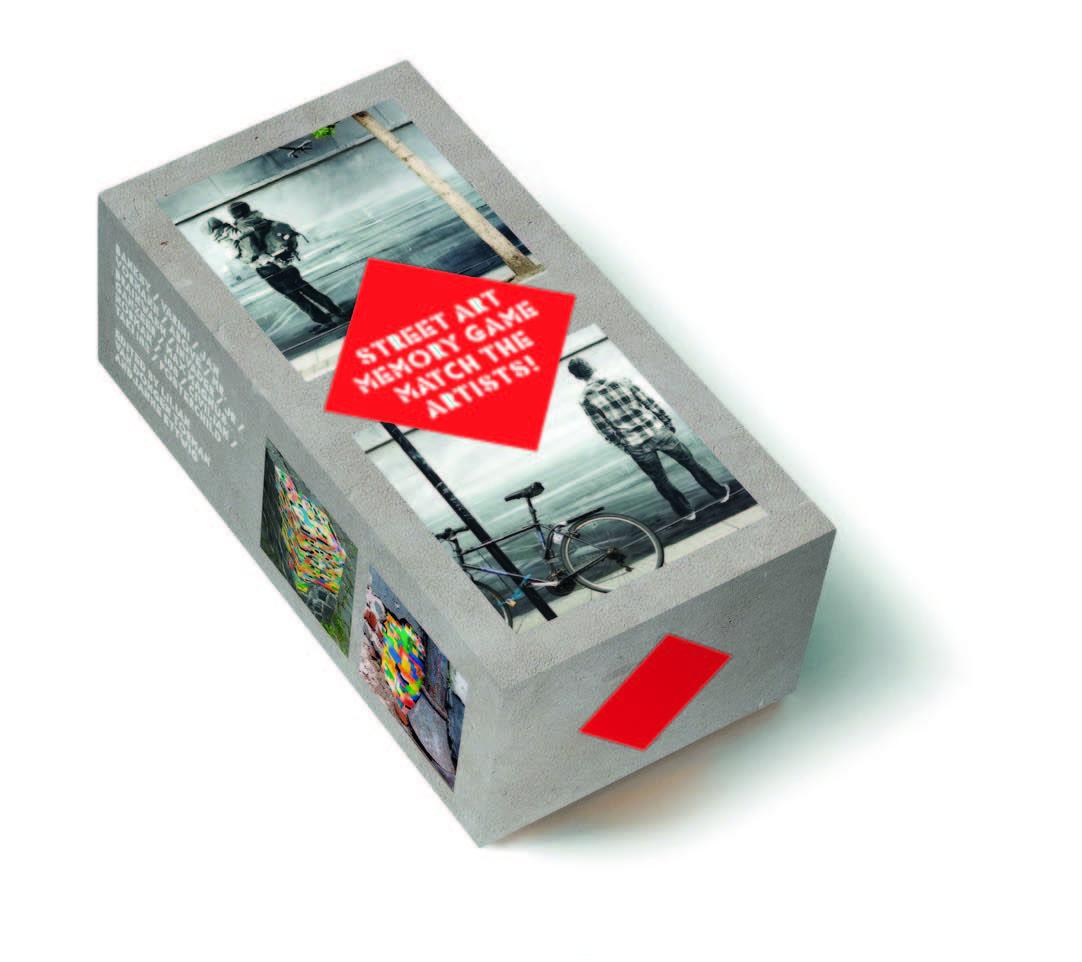 STREET ART MEMORY GAME /ANGLAIS