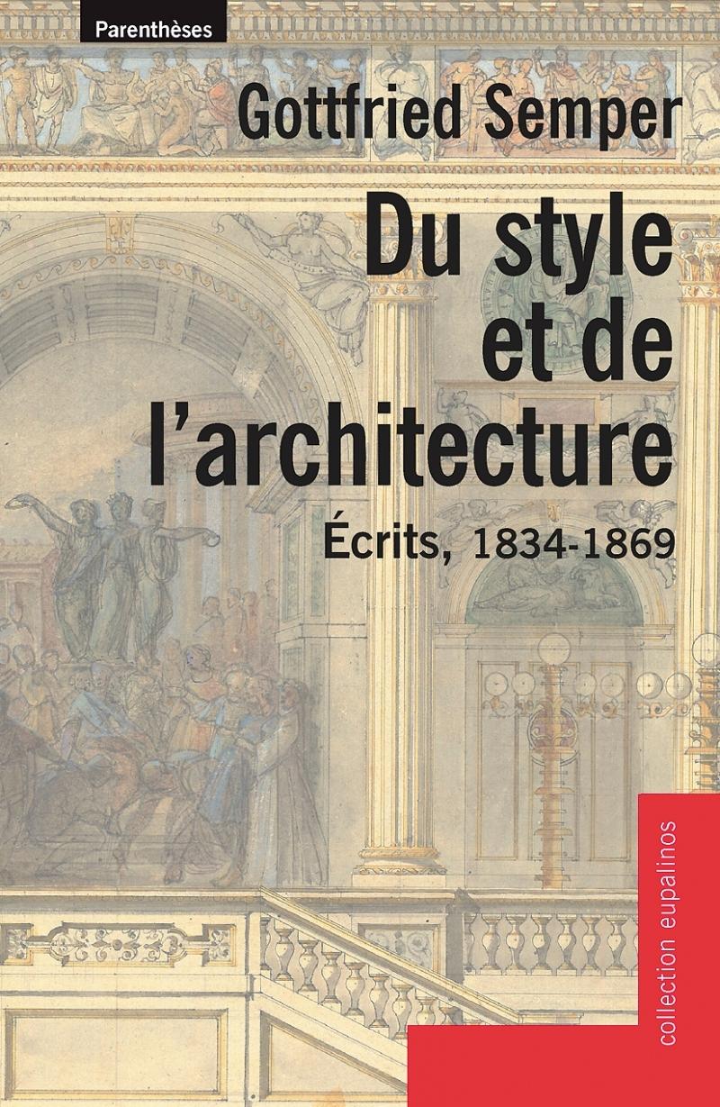 DU STYLE ET DE L'ARCHITECTURE