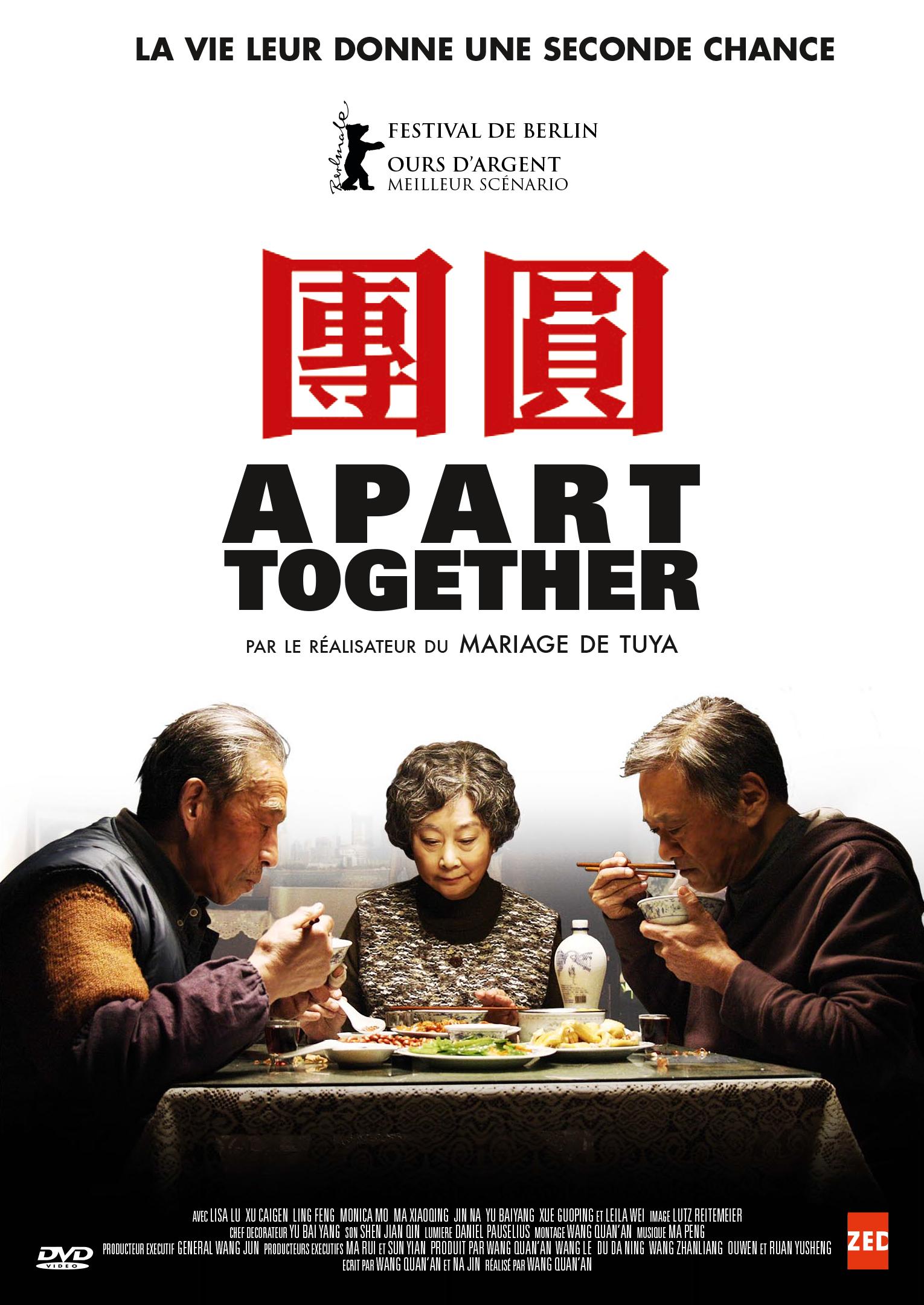 APART TOGETHER - DVD