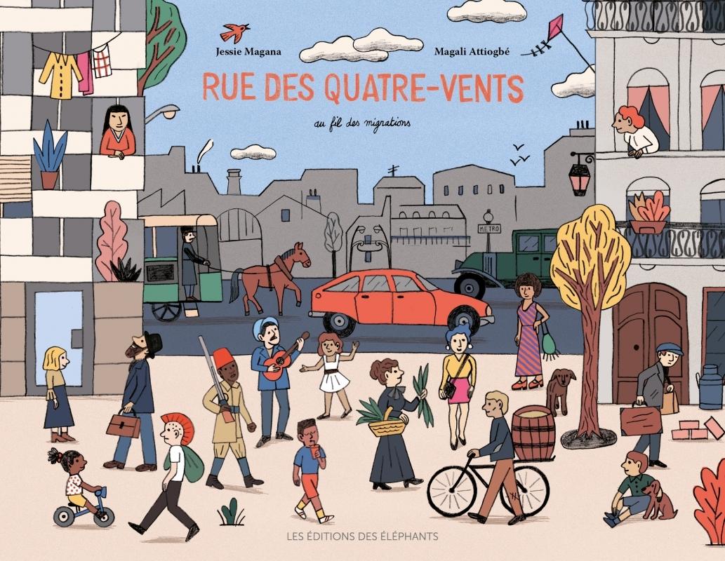 RUE DES QUATRE-VENTS - AU FIL DES MIGRATIONS