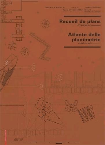 RECUEIL DE PLANS D HABITATION /FRANCAIS/ITALIEN