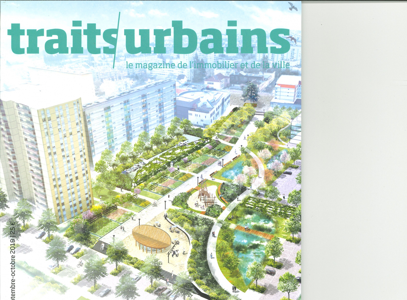 TRAITS URBAINS N 106 RENOVATION URBAINE  - SEPTEMBRE/OCTOBRE 2019