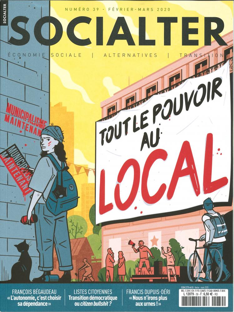 SOCIALTER N 39  TOUT LE POUVOIR AU LOCAL - FEVRIER/MARS 2020