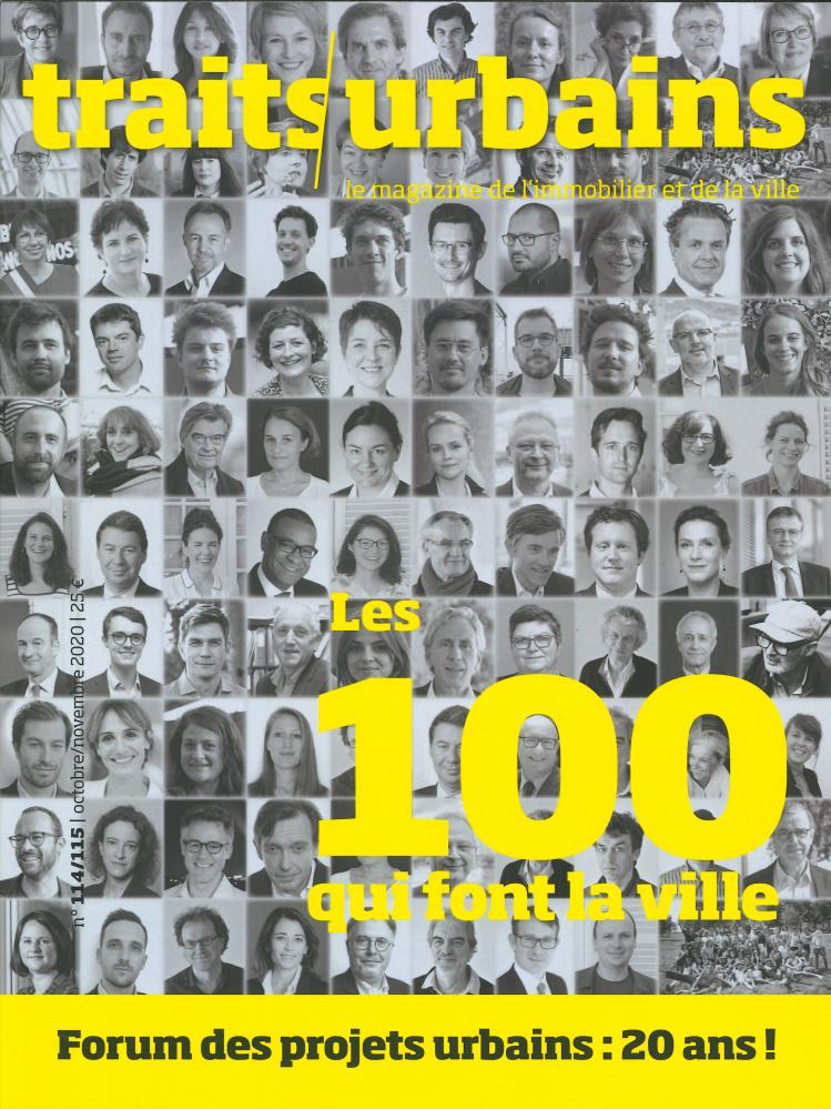 TRAITS URBAINS N 114/115 - LES 100 QUI FONT LA VILLE  - NOVEMBRE 2020
