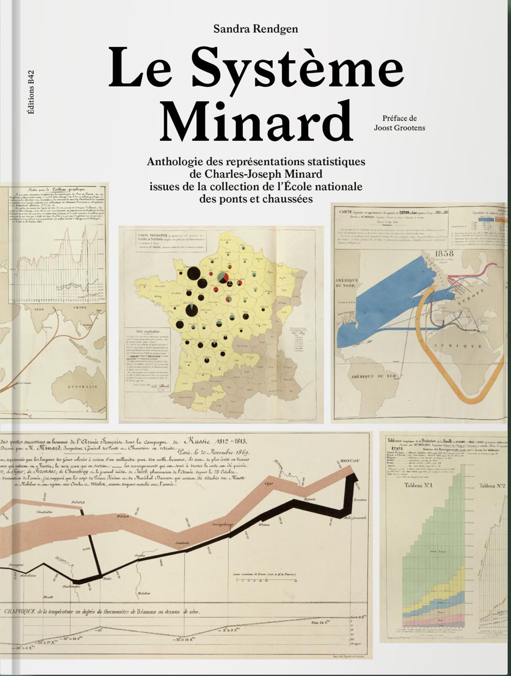 LE SYSTEME MINARD - ANTHOLOGIE DES REPRESENTATIONS STATISTIQUES DE CHARLES-JOSEPH MINARD - ILLUSTRAT