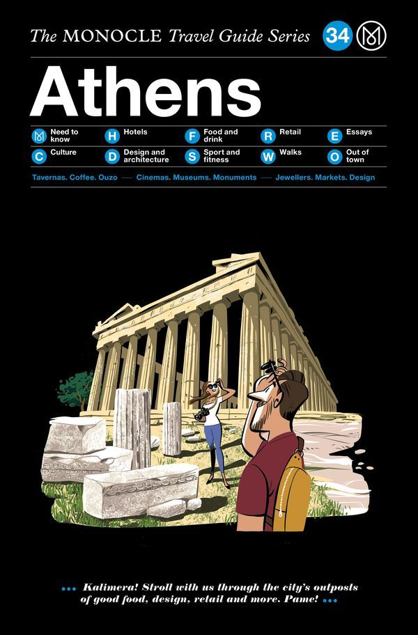 MONOCLE TRAVEL GUIDE ATHENS / ANGLAIS