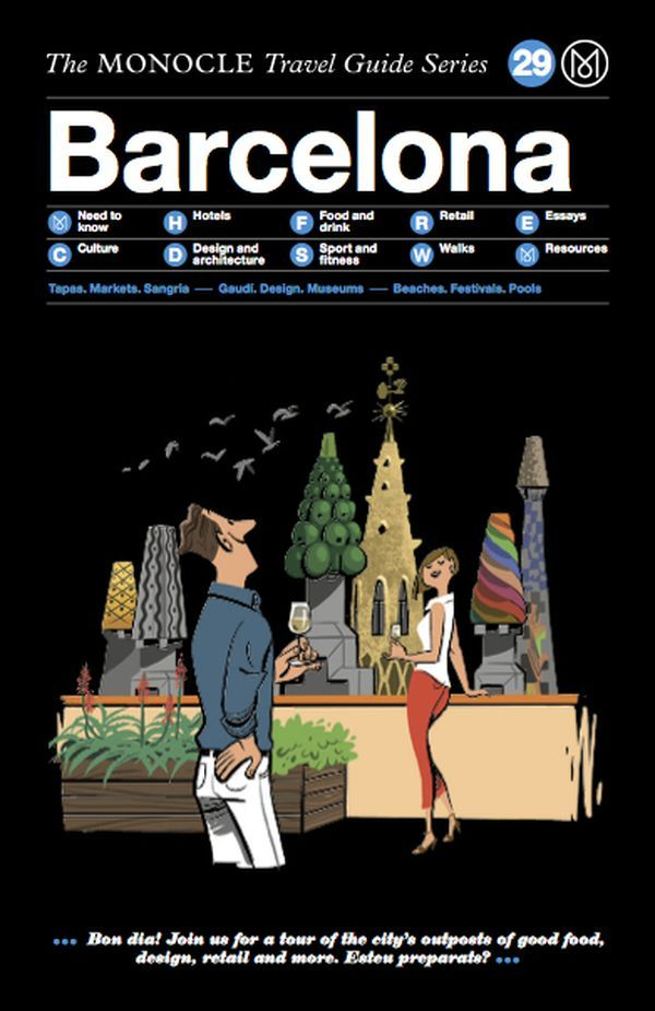 MONOCLE TRAVEL GUIDE BARCELONA /ANGLAIS