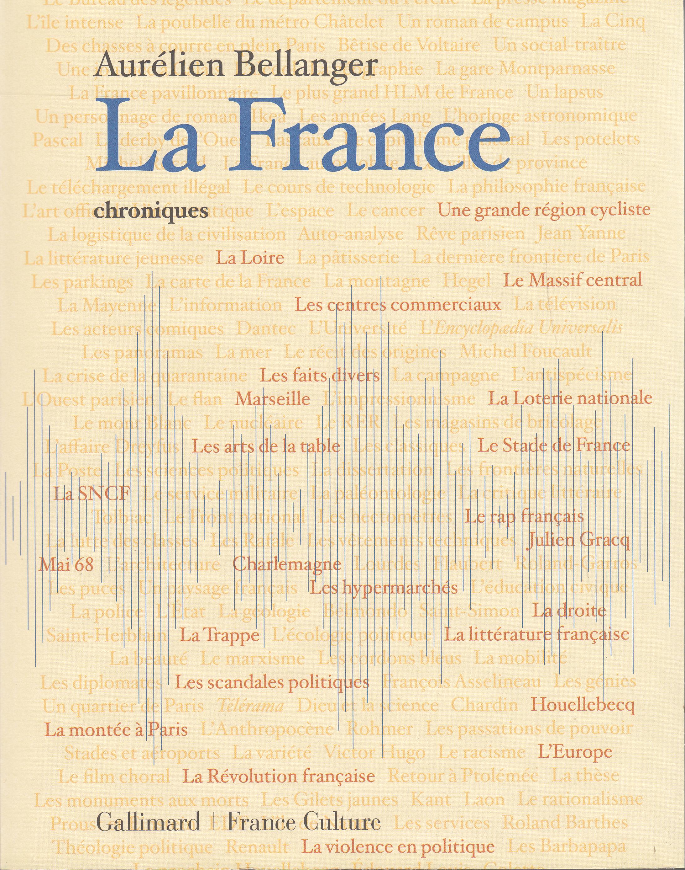 LA FRANCE - CHRONIQUES
