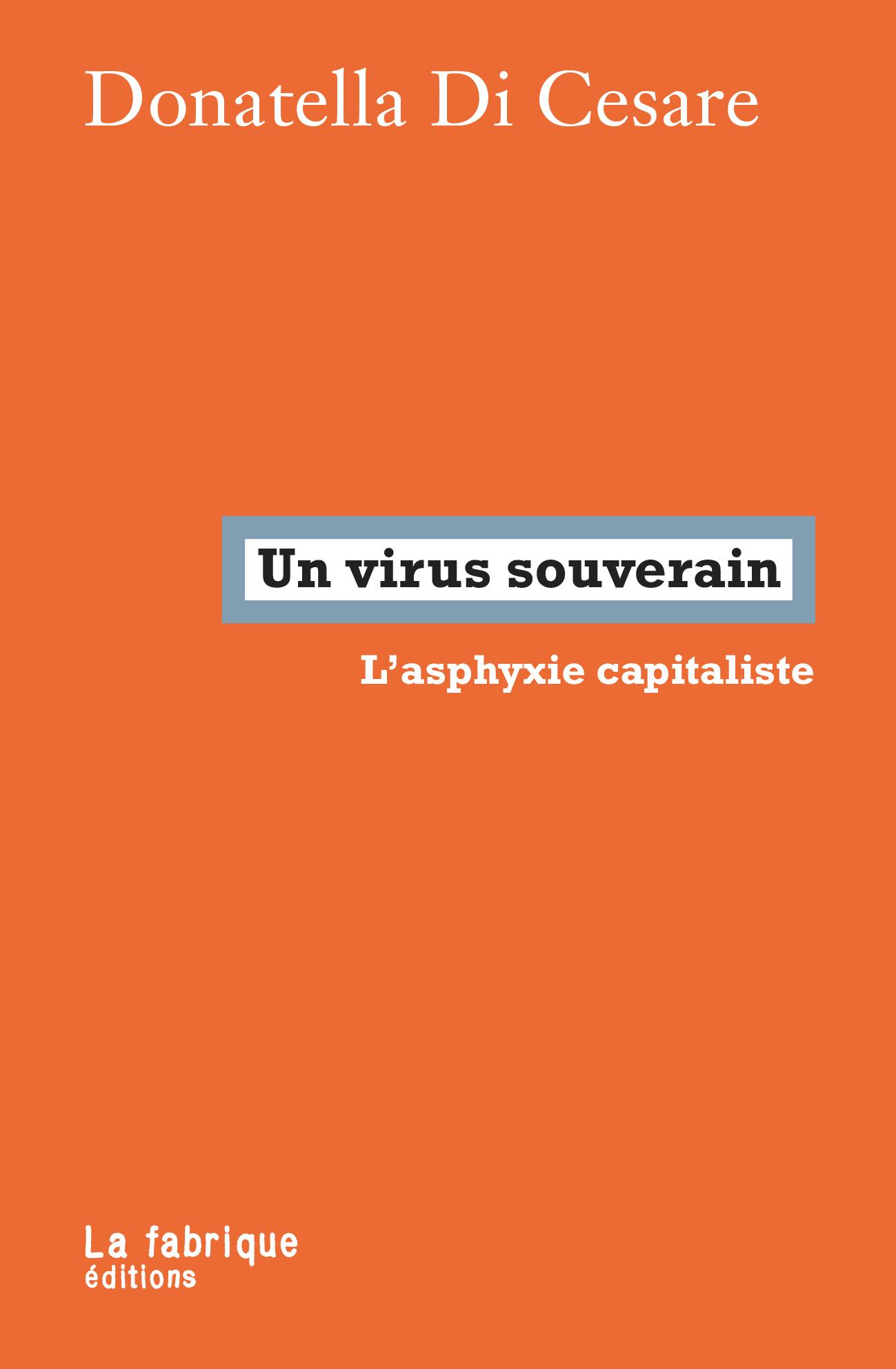 UN VIRUS SOUVERAIN - L ASPHYXIE CAPITALISTE