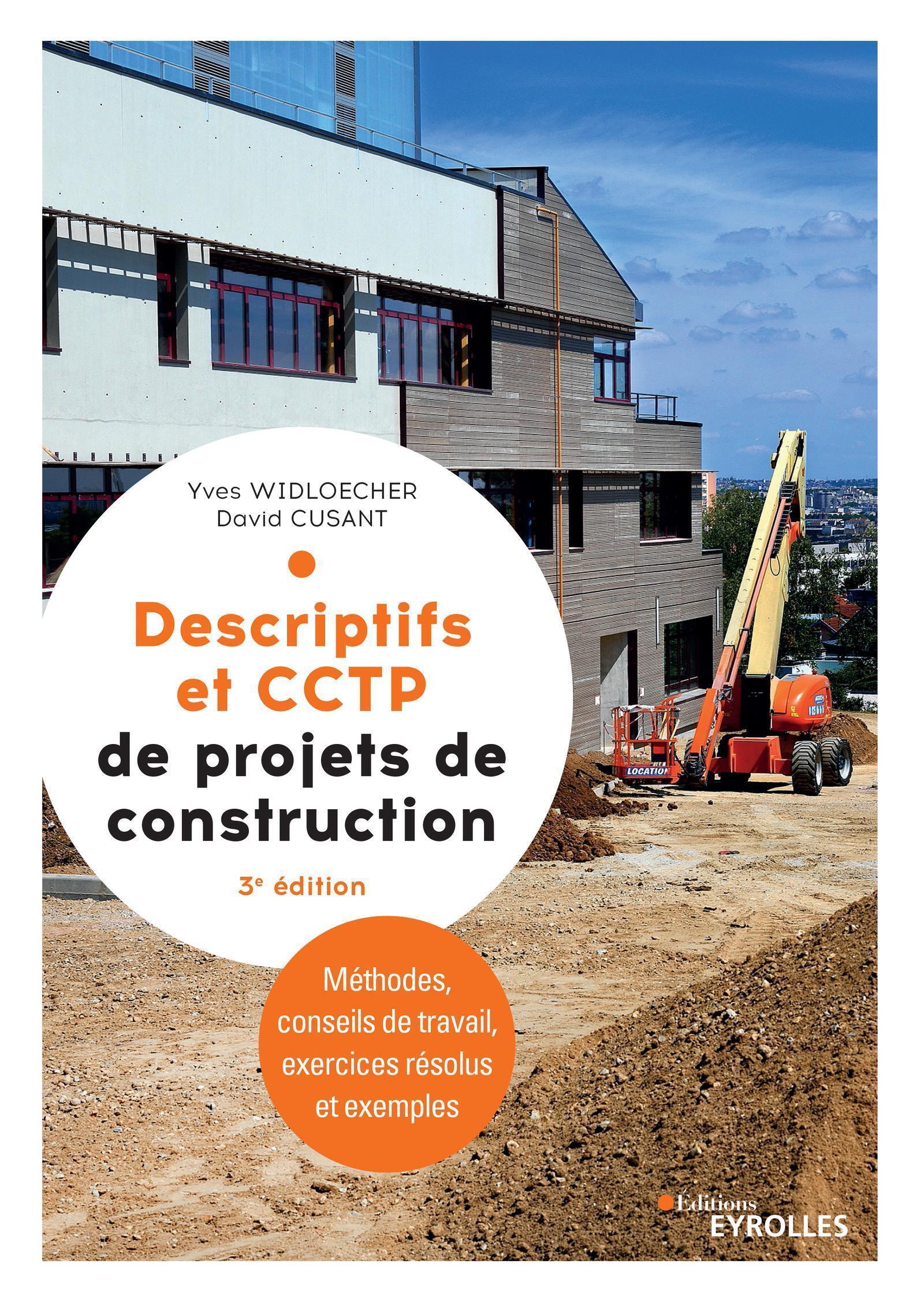 DESCRIPTIFS ET CCTP DE PROJETS DE CONSTRUCTION - MANUEL DE FORMATION INITIALE ET CONTINUE