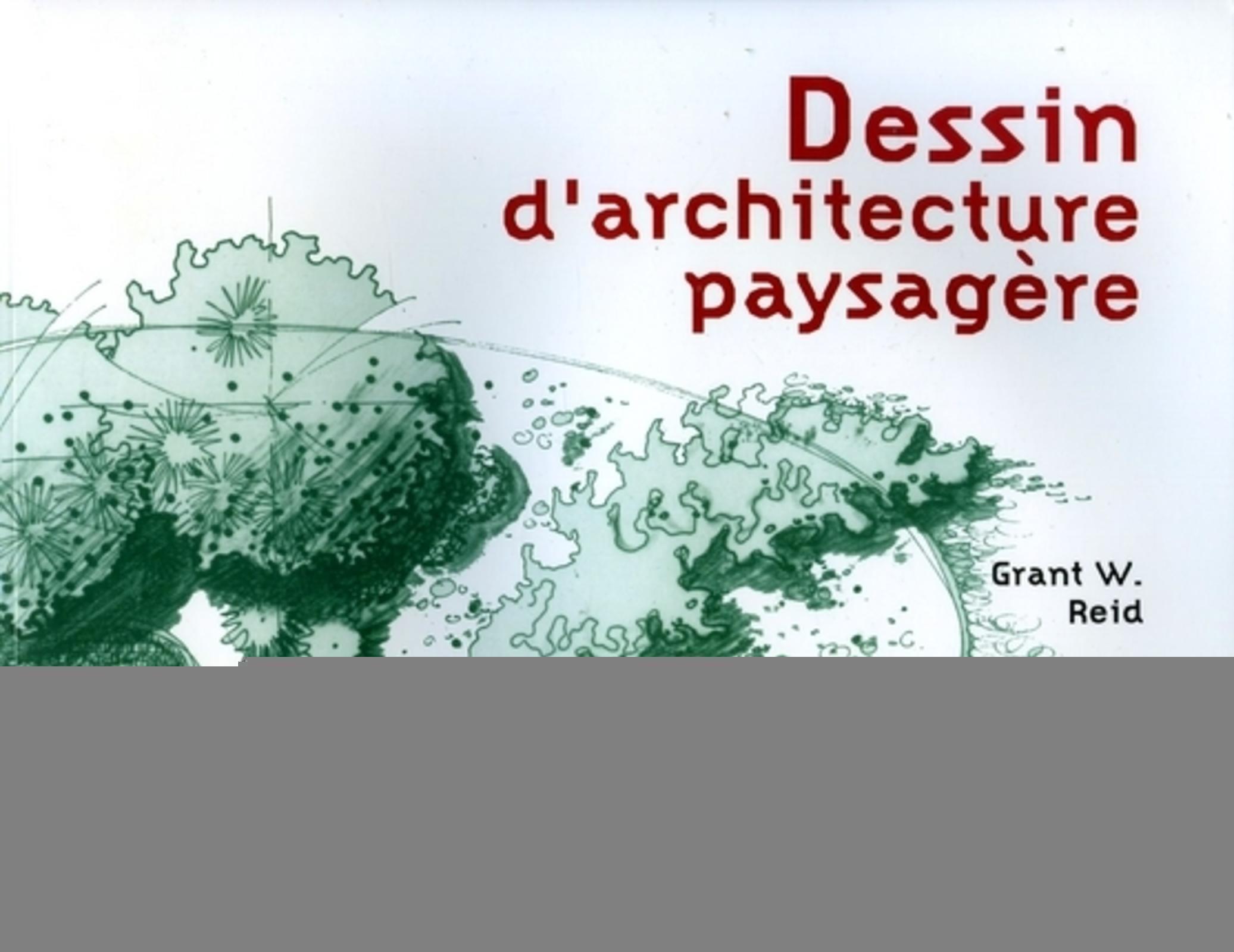 DESSIN D'ARCHITECTURE PAYSAGERE