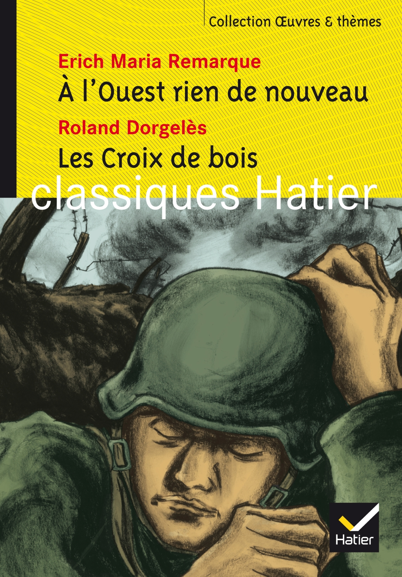 A L'OUEST RIEN DE NOUVEAU, LES CROIX DE BOIS