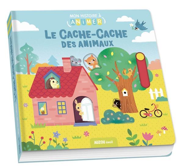 LE CACHE-CACHE DES ANIMAUX (COLL. MON HISTOIRE A ANIMER)