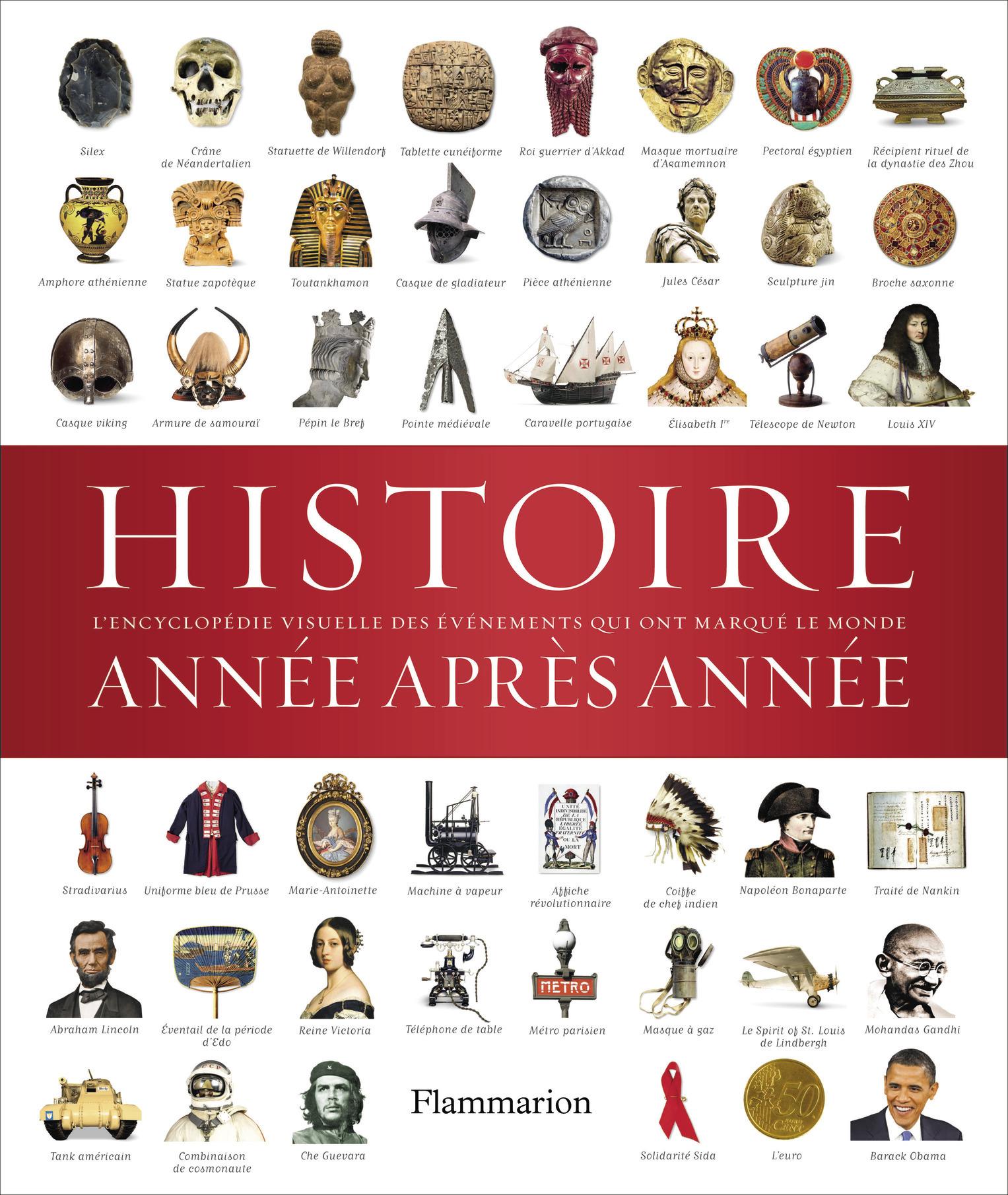 HISTOIRE ANNEE APRES ANNEE - ENCYCLOPEDIE VISUELLE DES EVENEMENTS QUI ONT MARQUE LE MONDE
