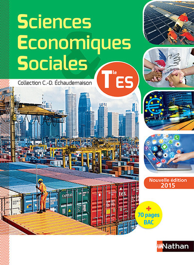 SCIENCES ECONOMIQUES ET SOCIALES TERM ES - ELEVE 2015