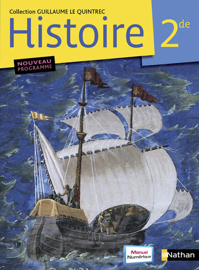 LE QUINTREC HISTOIRE 2EME - FORMAT COMPACT 2010 LIVRE ELEVE