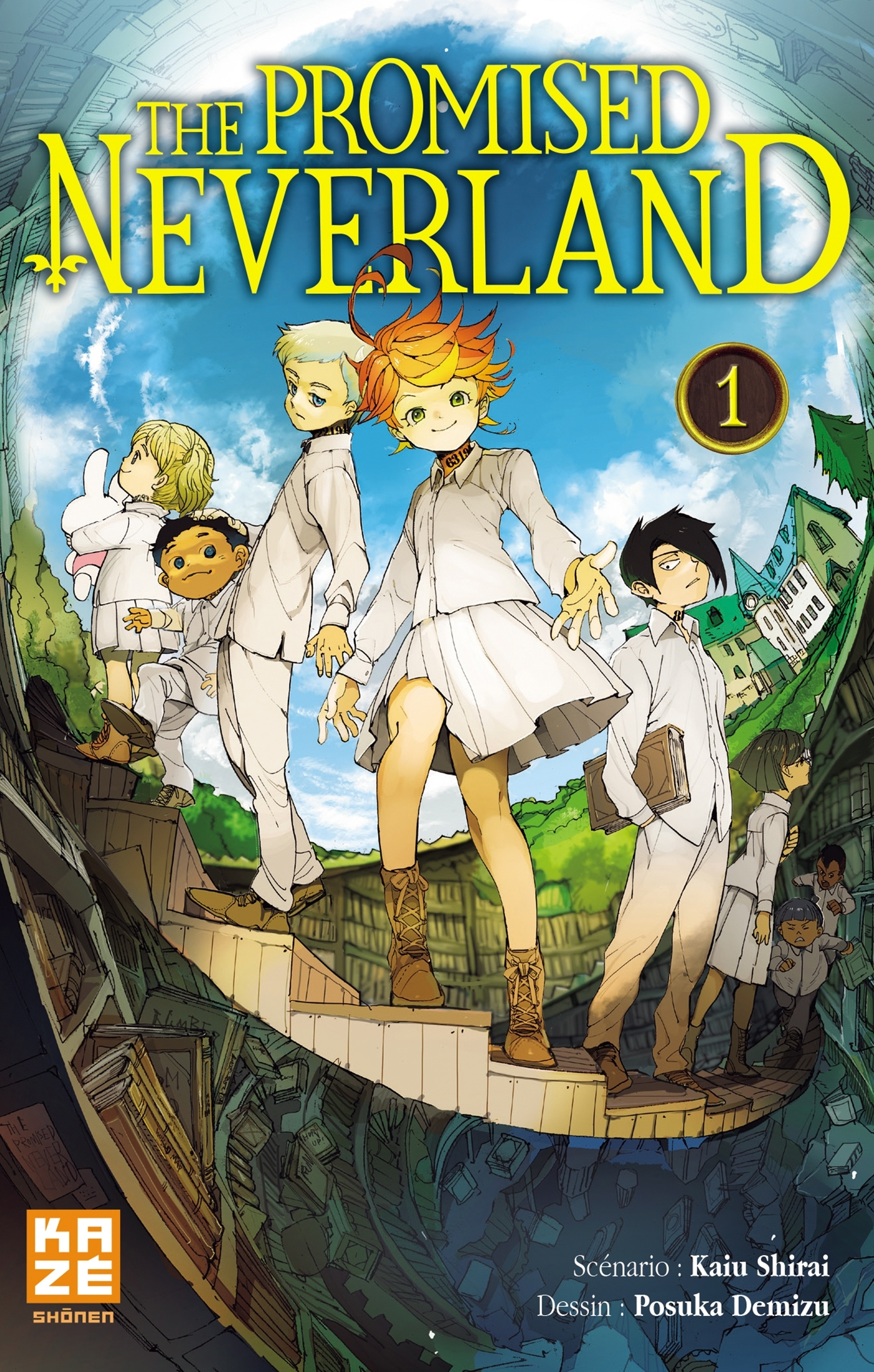 THE PROMISED NEVERLAND T01
