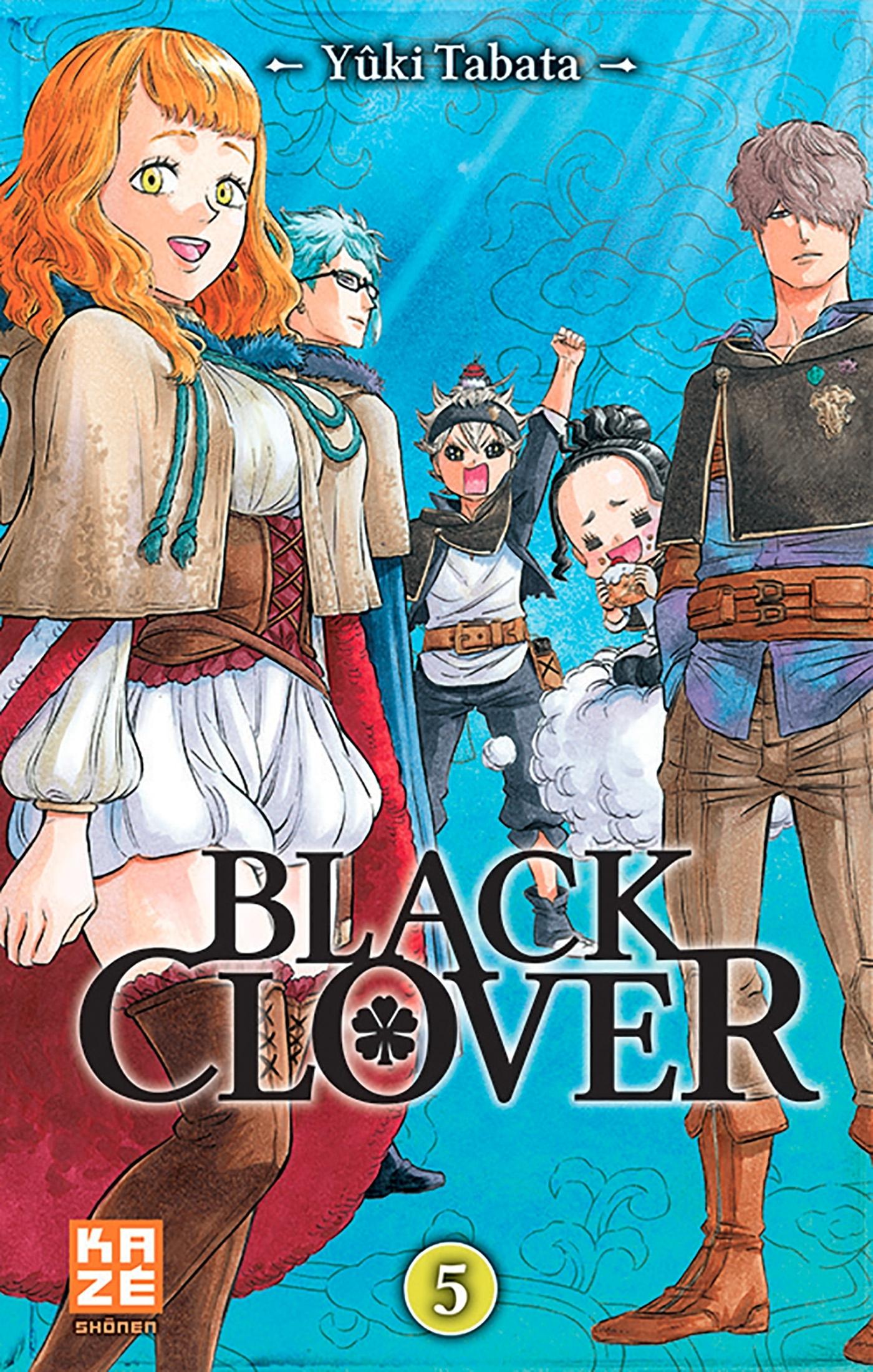 BLACK CLOVER T05