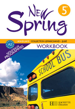 NEW SPRING 5E LV1 - ANGLAIS - WORKBOOK - EDITION 2007 - 9782011254719,000000