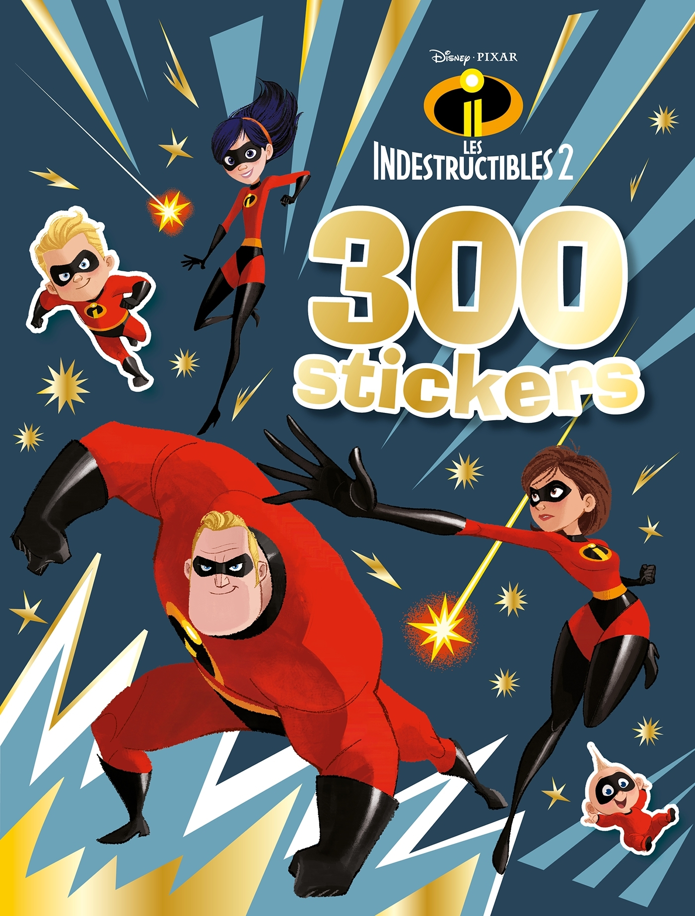 LES INDESTRUCTIBLES 2 - 300 STICKERS