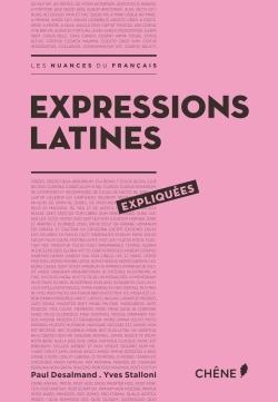 EXPRESSIONS LATINES EXPLIQUEES
