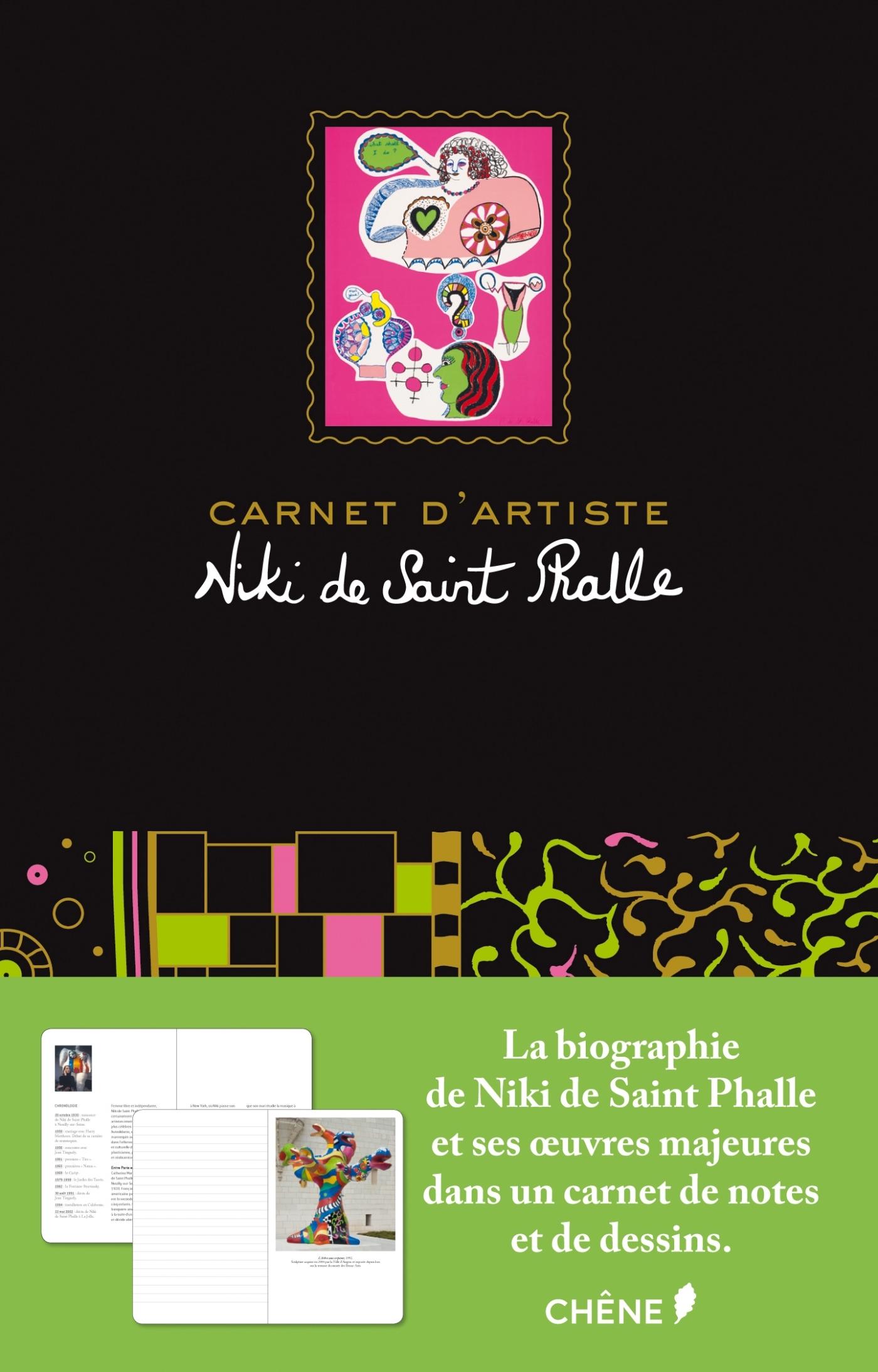 CARNET D'ARTISTES NIKI DE SAINT PHALLE