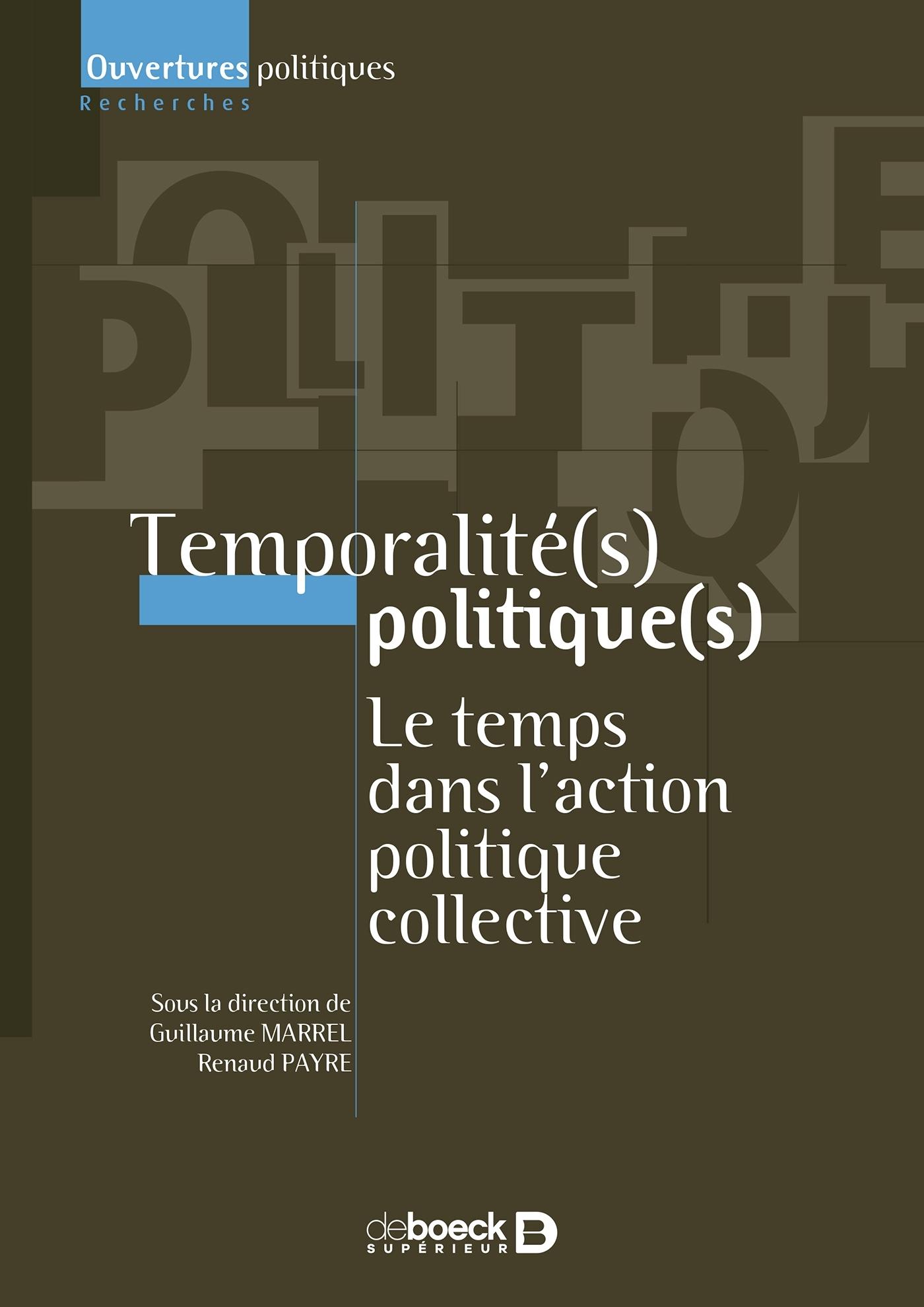 Temporalité(s) politique(s)