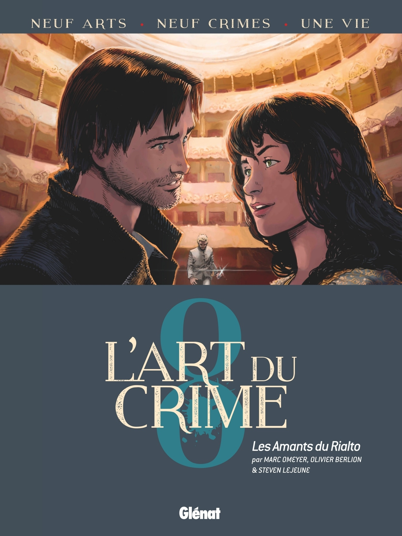 L'ART DU CRIME - TOME 08 - LES AMANTS DU RIALTO
