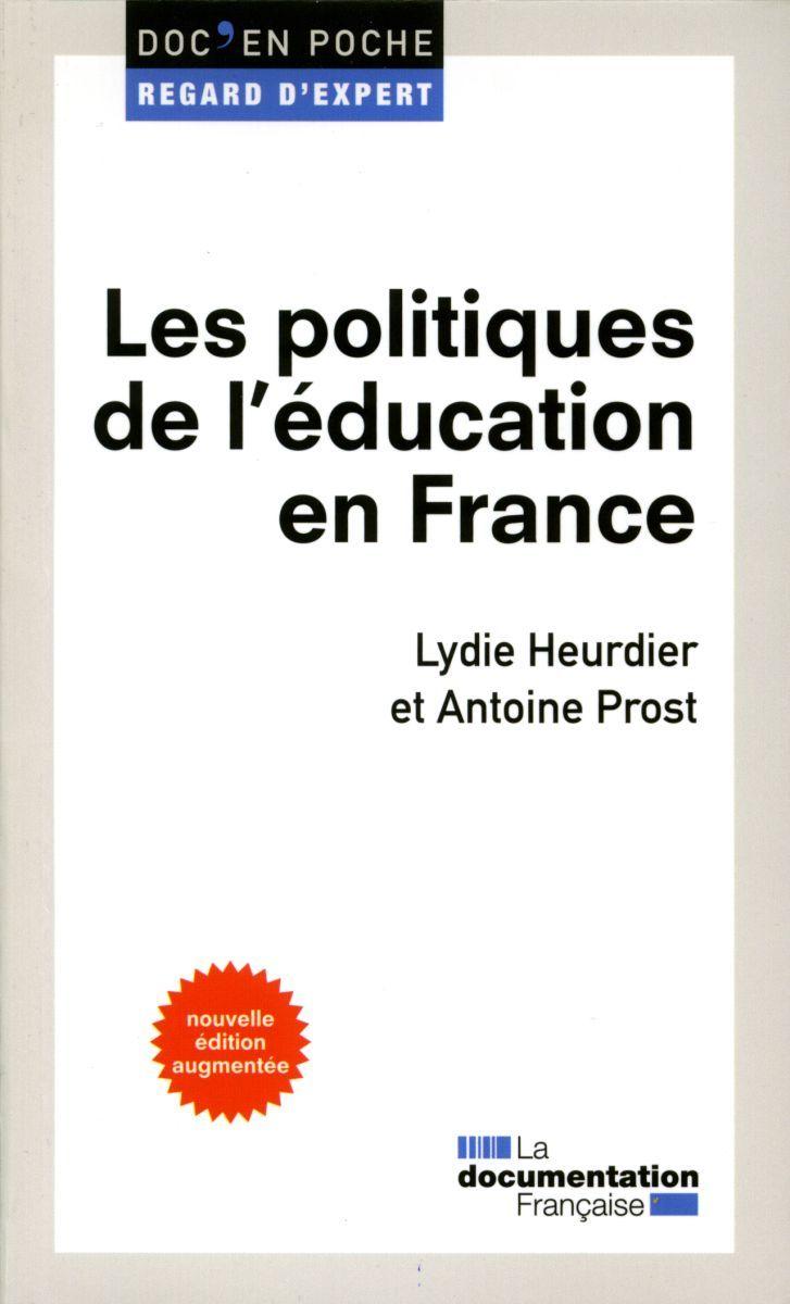 LES POLITIQUES DE L'EDUCATION EN FRANCE