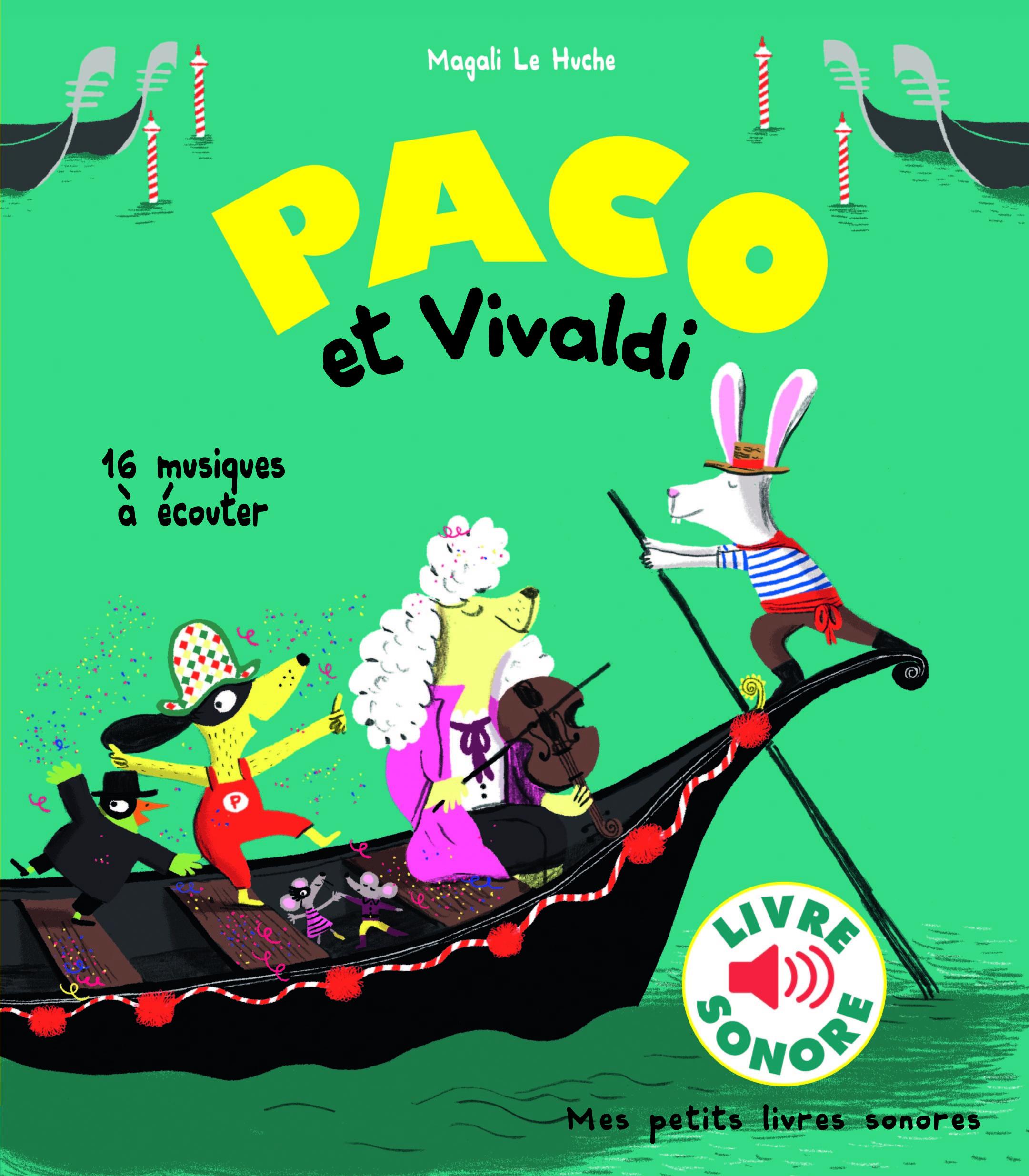 PACO ET VIVALDI - 16 MUSIQUES A ECOUTER