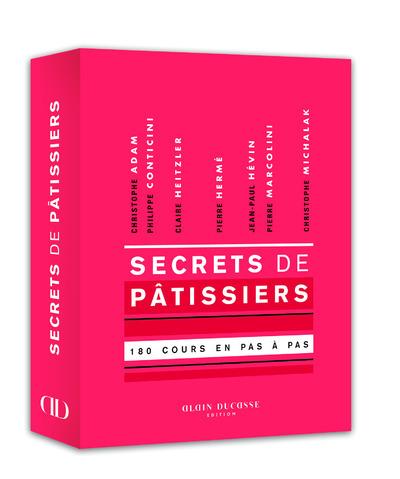 SECRETS DE PATISSIERS - 180 COURS ILLUSTRES EN PAS A PAS.