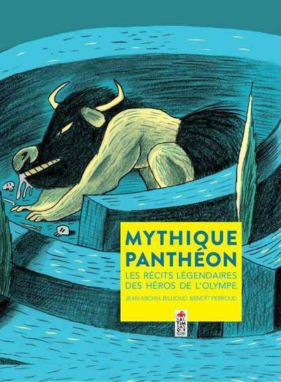 MYTHIQUE PANTHEON - LES RECITS LEGENDAIRES DES HEROS DE L'OLYMPE
