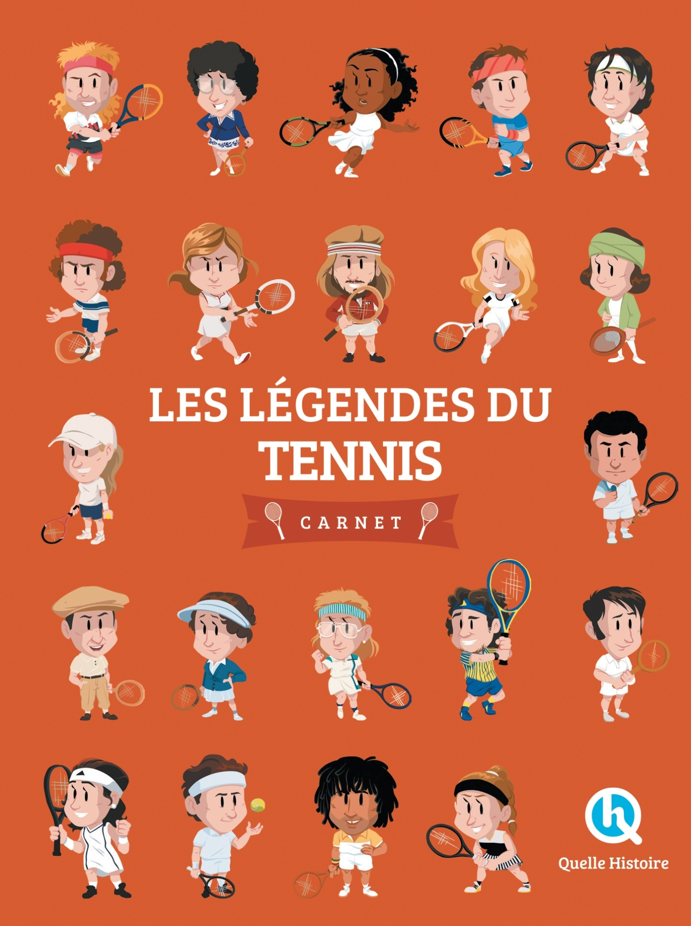 LES LEGENDES DU TENNIS