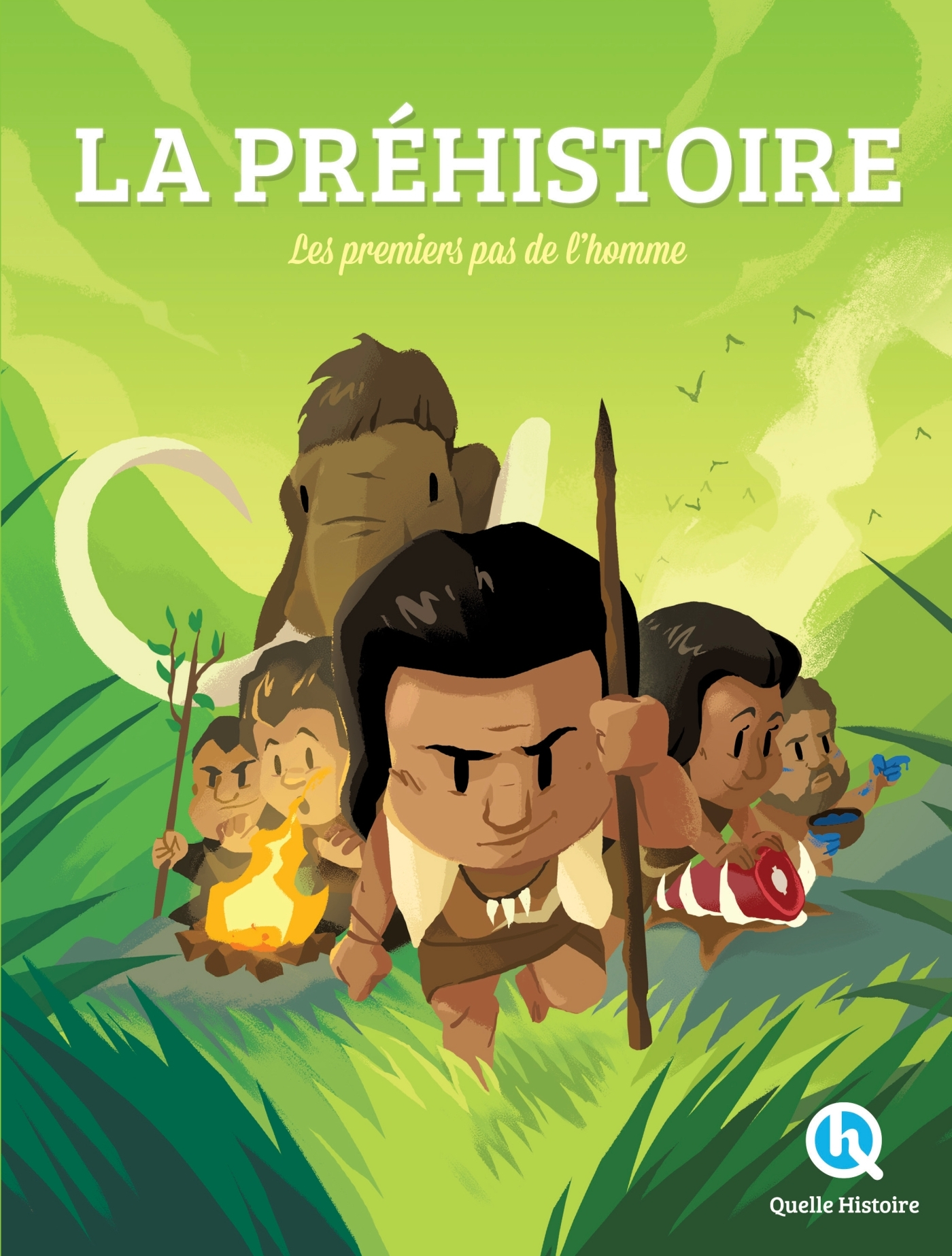 LA PREHISTOIRE - LES PREMIERS PAS DE L'HOMME