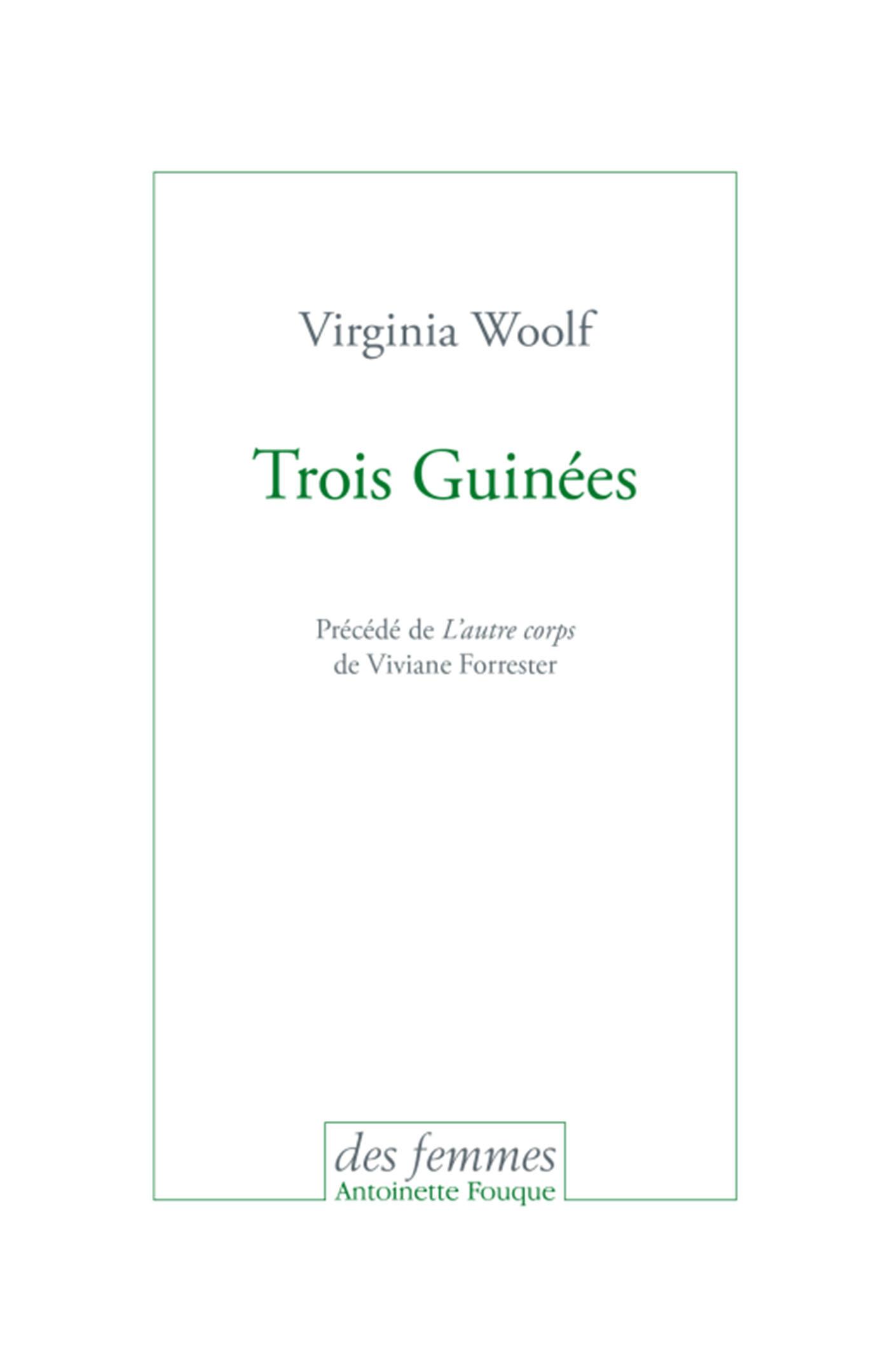 TROIS GUINEES
