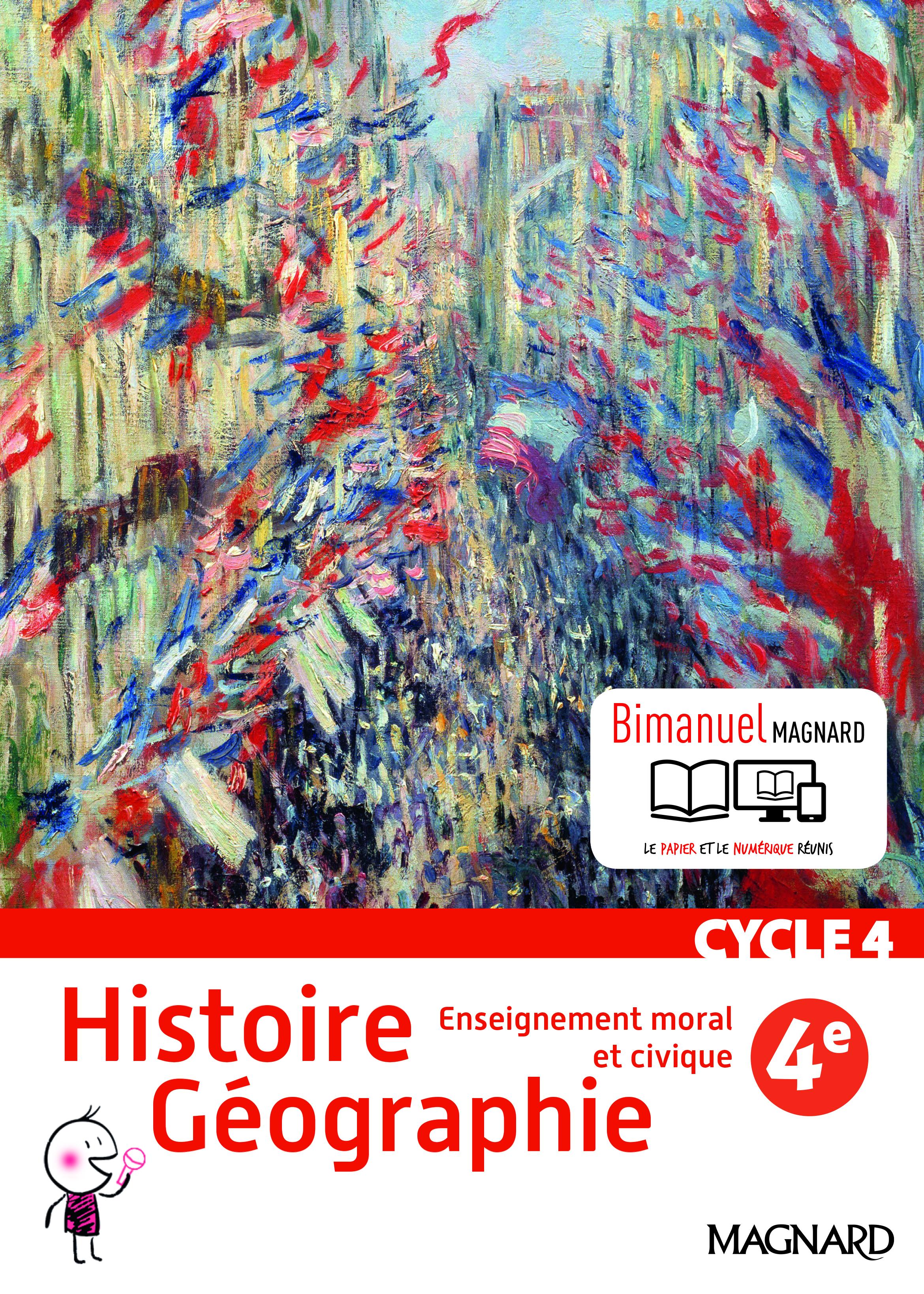 HISTOIRE GEOGRAPHIE EMC 4E ELEVE BIMANUEL