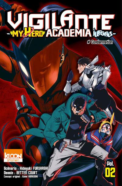 VIGILANTE - MY HERO ACADEMIA ILLEGALS T02