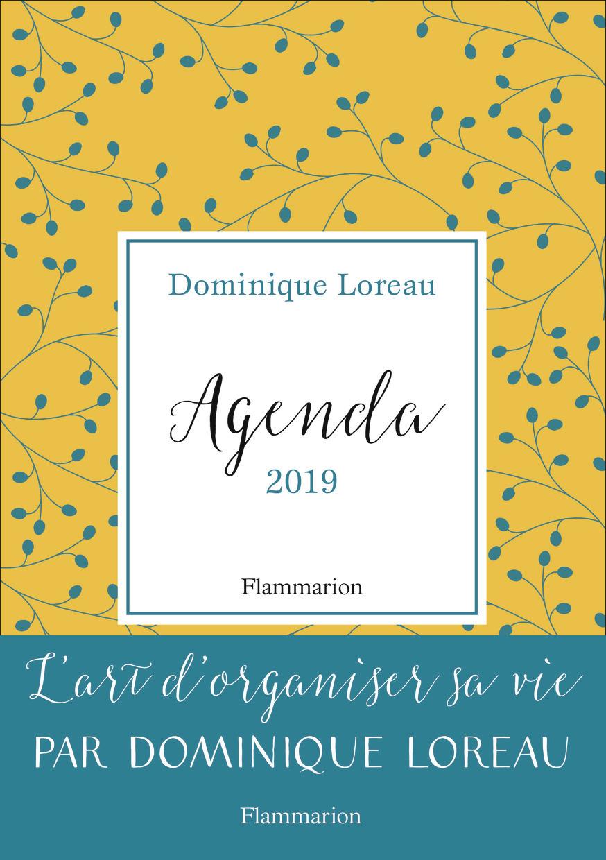 AGENDA & CALENDRIER - AGENDA 2019 - L'ART D'ORGANISER SA VIE